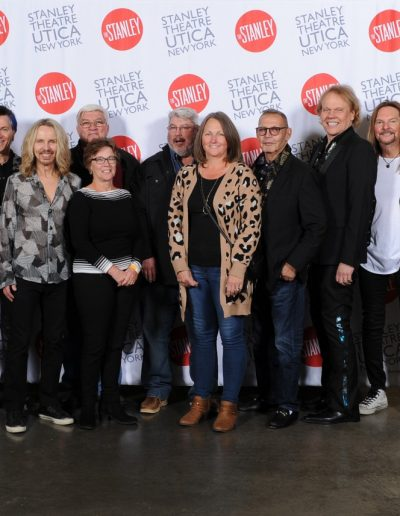 Styx Band Members Lined Up with Fans