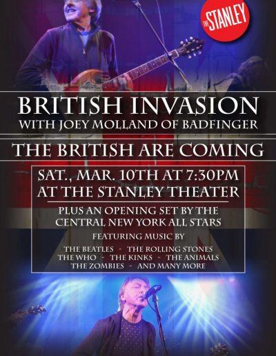 British Invasion Poster art