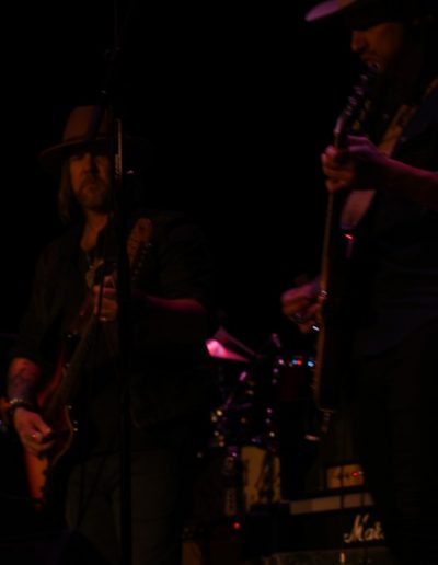 Allman Betts Band Members on stage
