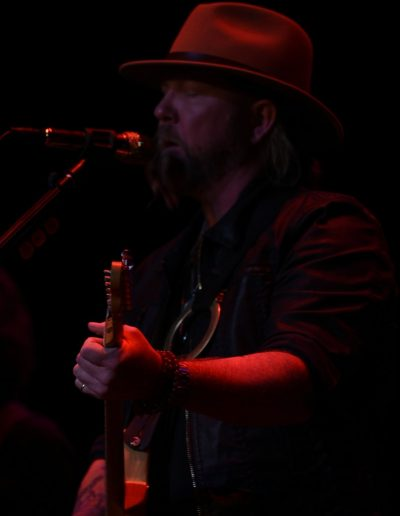 Allman Betts Band Member on stage