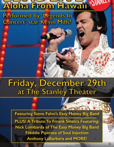 Elvis Live Poster Art