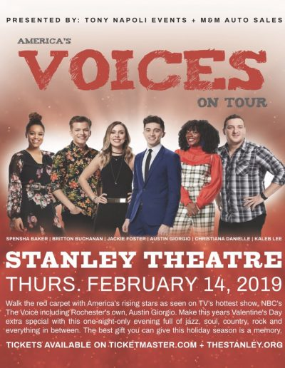 America's Voices on Tour Poster Art
