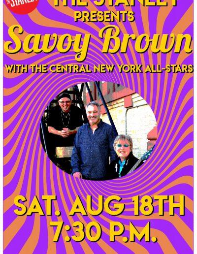 Savoy Brown Poster Art