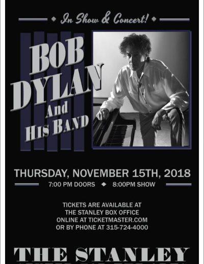Bob Dylan and his band Poster Art