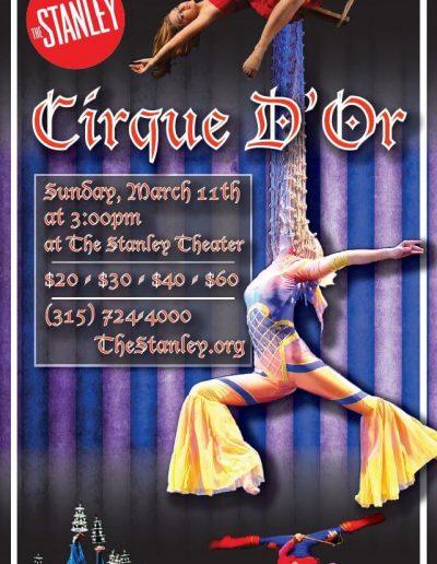 Cirque D'Or Poster Art