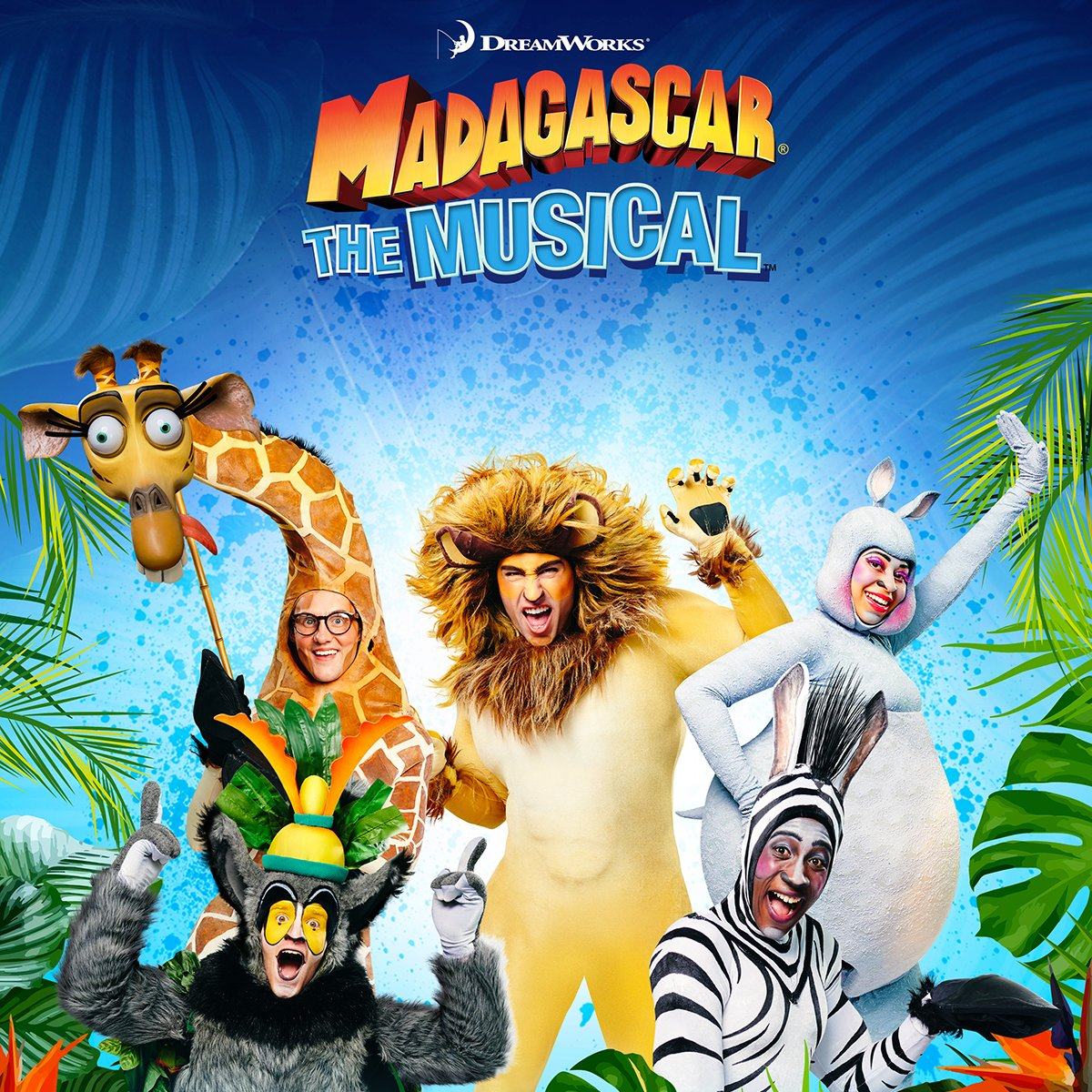 Madagascar the Musical Poster